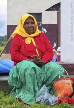 Rarámuri woman, Chihuahua Mexico