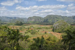 Mogotes and tabacco fields, Cuba